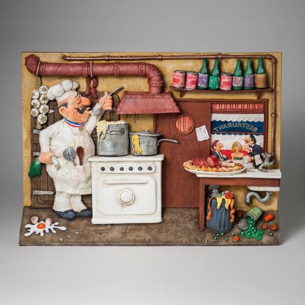 FO85704-2D-Wall-Art-Fine-Dining-La-Bonne-Cuisine-1-square