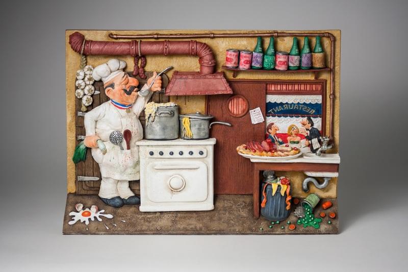1_FO85704-2D-Wall-Art-Fine-Dining-La-Bonne-Cuisine-1