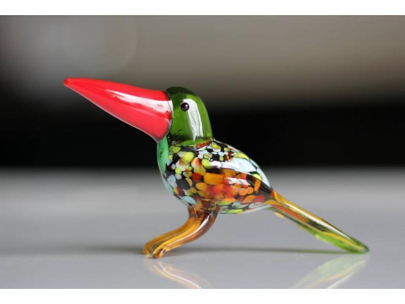 vetro-gallery-glassculptuur-vogel-toekan-groene-ko
