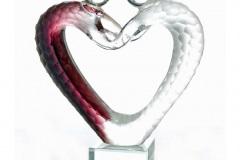 sjiekado-Vetro-glassculptuur-Love